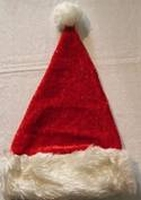 <br><b>Luxe pluche kerstmuts</b>