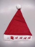 <br><b>kerstmuts met knipperende arreslee</b>