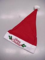 <br><b>kerstmuts met knipperende Merry Christmas</b>