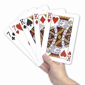 <br><b>Jumbo speelkaarten</b>