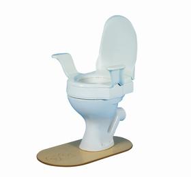 <b><br>Nobi toiletverhoger 10 cm met vaste armsteunen